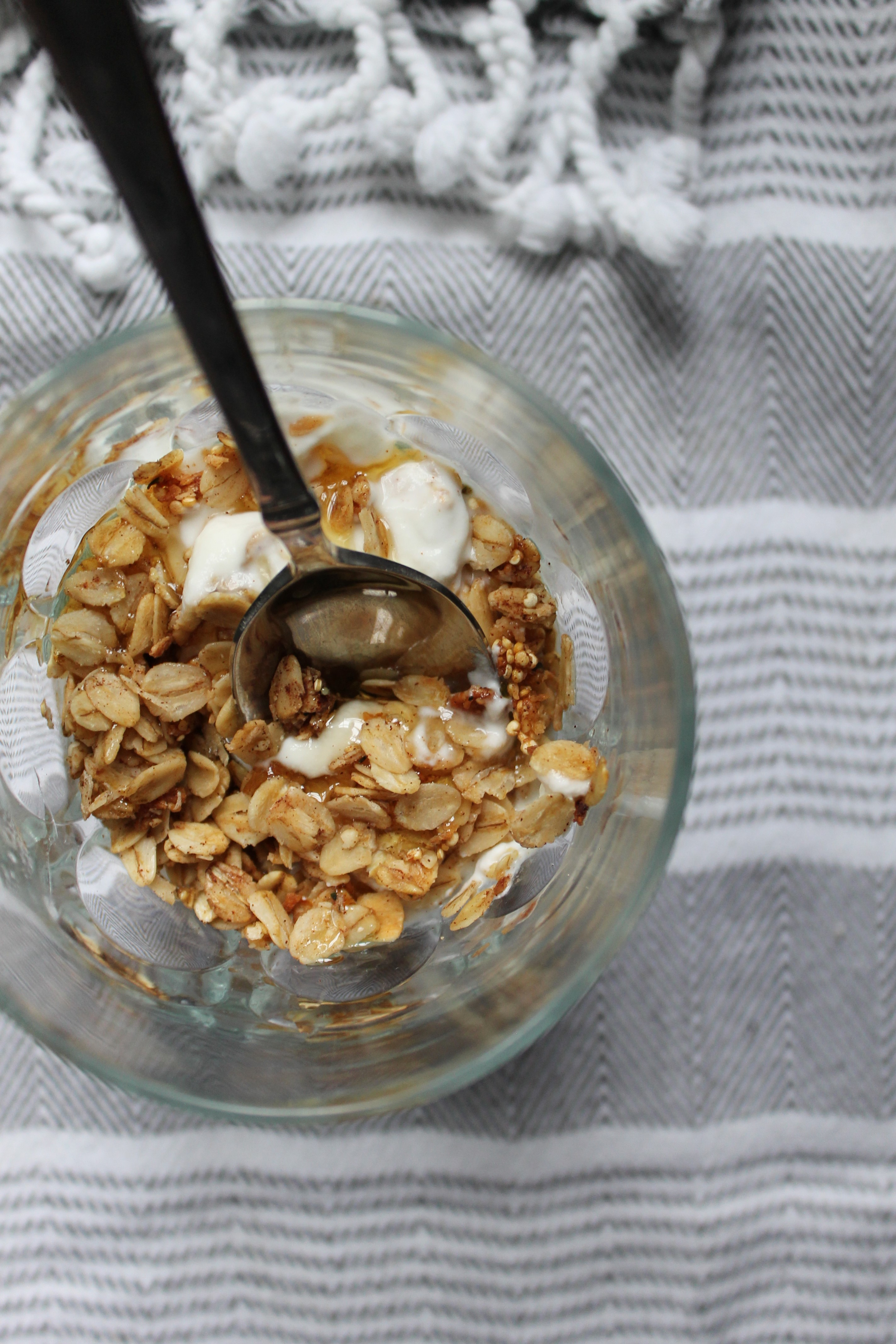 how to make toasted quinoa cereal images